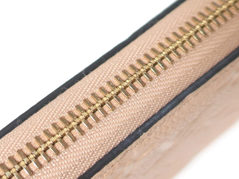 ルイヴィトン モノグラム・アンプラント ジッピー・ウォレット 長財布 M61866 SP2136 外側ダメージ05