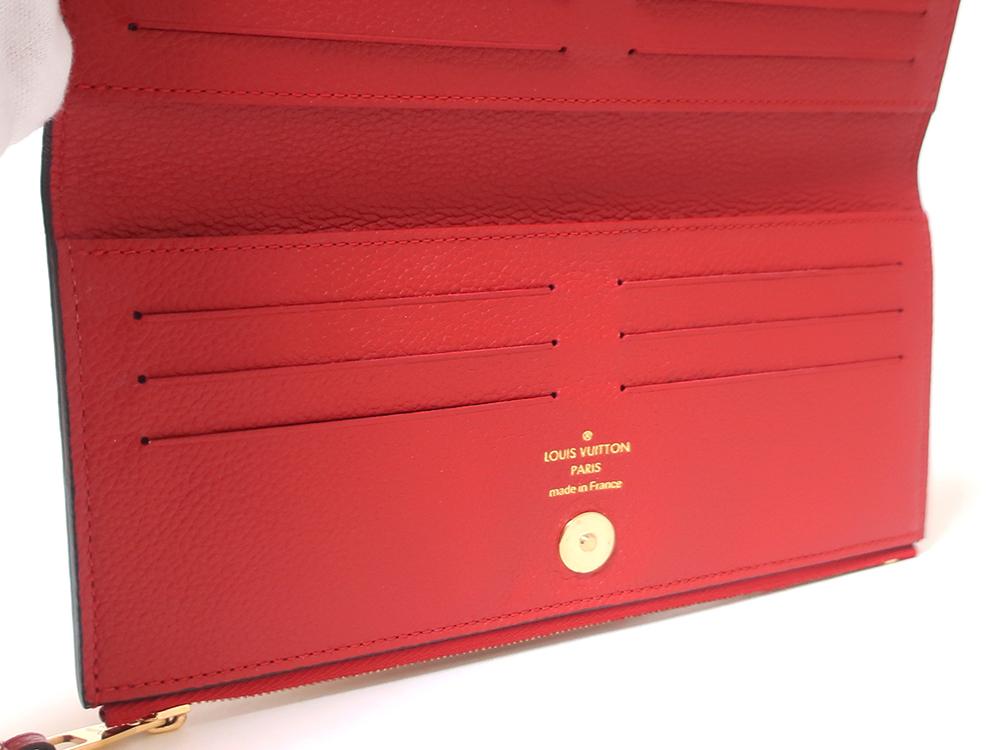 ルイヴィトン モノグラム・アンプラント ポルトフォイユ・アデル 長財布 M62529 カード入れ01