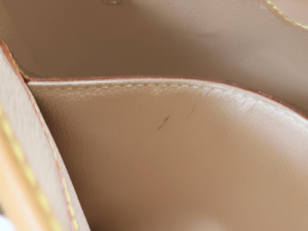 ルイヴィトン モノグラム バケットPM M42238 内側ダメージ0