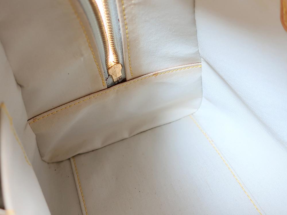 ルイヴィトン モノグラム・ミニ マリー M92003 内側ダメージ04
