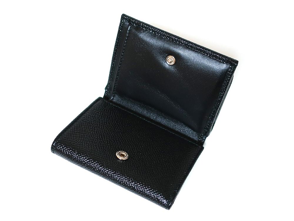 ブルガリ ブルガリ・ブルガリ 三つ折り財布 レザー ブラック 288648 内面