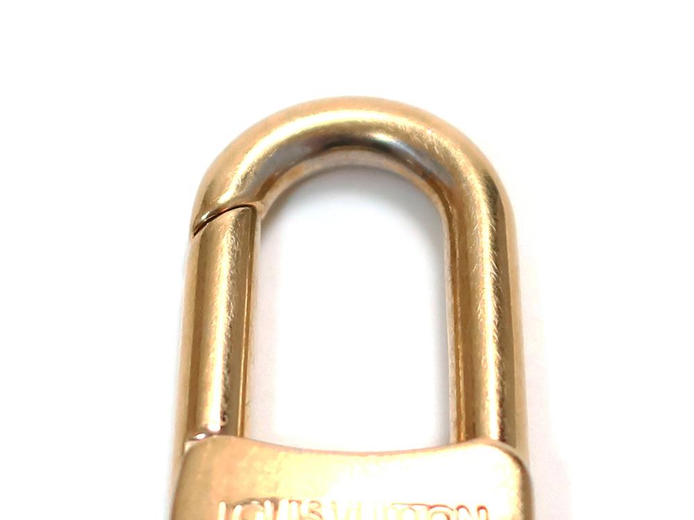 ルイヴィトン ポルトクレ・パンピーユ  チャーム キーリング M91928 ダメージ05